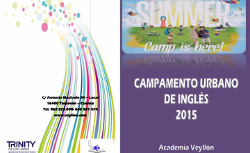 folleto campamento verano ingles 2015